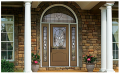 Classic-Craft Canvas Fiberglass Entry Door