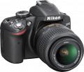 Nikon - D3200 24.2-Megapixel Digital SLR Camera with 18-55mm Zoom Lens - Black