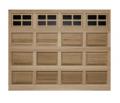 Model 44 Raised Panel Wood Garage Door
