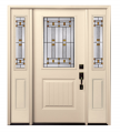 Smooth Fiberglass Entry Door