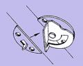 Eccentric Pivoting Table Lock