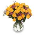 Golden Yellow Spray Roses