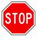 Stop Sign R1-1 30