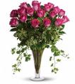 8 Long Stemmed Pink Roses