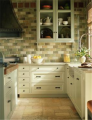 Relaxed French Country Kitchen Tile