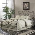 Queen Size Papillon Bed Brushed Bronze