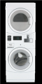 High-Efficiency Commercial Stack Washer/Dryer