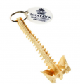 Spine Shaped Key Chain