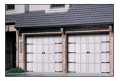 Model 164A Courtyard Collection Garage Doors