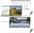 Triumph American Splendor Twin Looped Desk Calendar