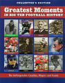 Greatest Moments In Big Ten Football History (paperback) Book