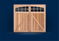 5400/5700 Cedar Faced Carriage House Collection Garage Door