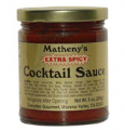 Matheny's Extra Spicy Cocktail Sauce
