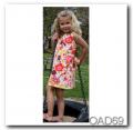 Sunny Reversible Wrap Dress & Doll Dress
