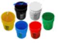 Buckets,Bottles,Cans & Lids