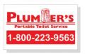 Portable Restroom Decals & Signs