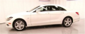 Vehicle Diamond White CLS550 Mercedes-Benz
