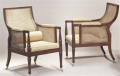 Armchairs Regency 1810