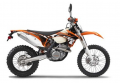 Motorcycle KTM 350 EXC-F 2012