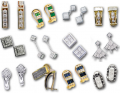 Beyond custom work, Zak's Jewelry offers a wide variety of classic as well as unique jewelry including: rings, bracelets, pendants, earrings, wedding bands, quality watches, and beautiful Waterford crystal.