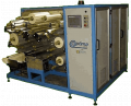 Optima capacitor winding machine.