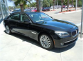 Vehicle BMW 750Li Sedan 2012