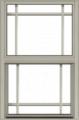 Premium Aluminum Single-Hung Window