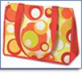 Reusable Non-Woven Eclectic Dot-Style Bags