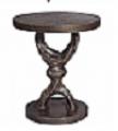 Crescent Pedestal Table