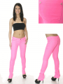 Neon Pink Skinny Jeans by Hybrid Clothing