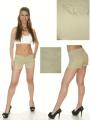 Flap Pocket Khaki Shorts by Match Clothing