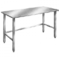 Tables Al Open Bbase - Stainless Top