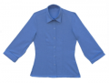 Fitted Oxford Cloth Blouse