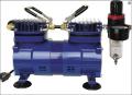 Paasche DA400R 1/6 HP Compressor with Regulator and Moisture Trap 1/8 H.P.