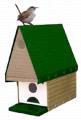 Window Nesting Bungalow House