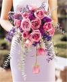 Cascading Lavender Roses Bouquet