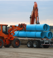 "14"" through 48"" Trans-21™ cast iron O.D. PVC pressure pipe"