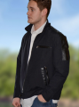 Men's Coats S-12617-BLK