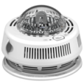 120V AC/DC Photo Smoke Alarm with Integrated Strobe