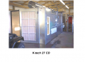 KTech 27 SD Cross Draft Spray Booth
