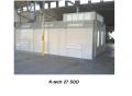 KTech 27 SDD Semi Down Draft Spray Booth