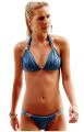 Sun Secrets Sexy Brazilian Back Scrunched Bikini Set