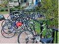 Campus bike parking series