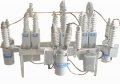 Pole-mounted harmonic filter banks and capacitor banks