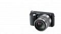 Α NEX-F3K/B with 18-55mm Lens