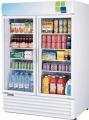 50 cu. ft. Double Glass Door Cooler