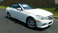 2013 Mercedes-Benz E550 Convertible Vehicle