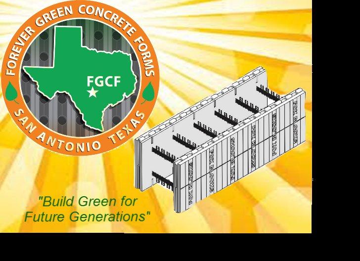 Forever Green Concrete Forms, San Antonio