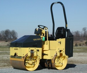 Order Double Smooth Drum Rammer Rental