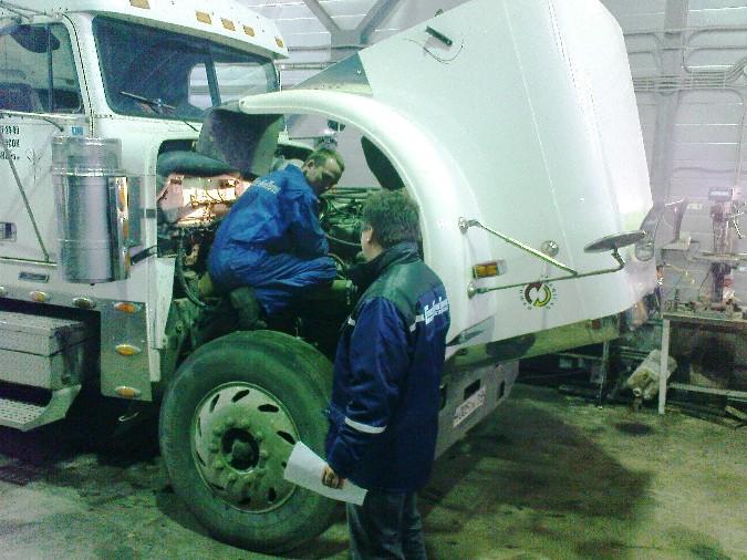 Order Truck repair service